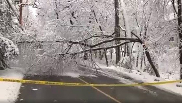 Much of the Northeast is bracing for blizzard conditions, a foot or more of snow and high winds as the third major nor'easter in 10 days bears down on the region. (Source: WCVB/CNN)