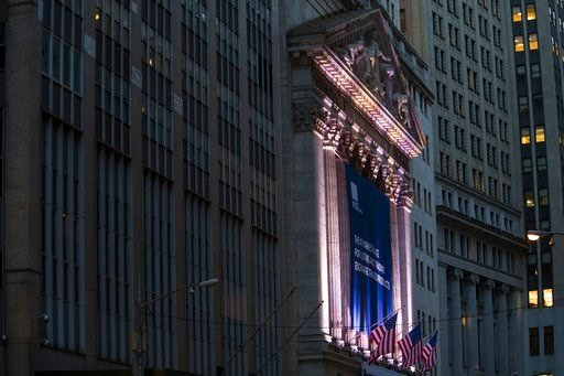 (AP Photo/Mary Altaffer, File). FILE - This Oct. 25, 2016, file photo shows the New York Stock Exchange in Lower Manhattan. The U.S. stock market opens at 9:30 a.m. EST on Monday, March 12, 2018.