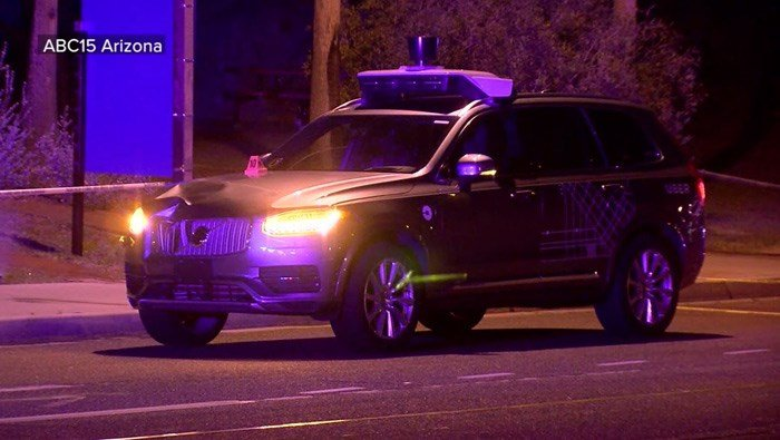 Self-driving vehicle strikes and kills pedestrian in Arizona - | WBTV Charlotte