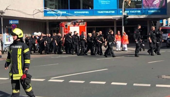 Germany seeks motive after van crashes into crowd, killing 2 - | WBTV Charlotte