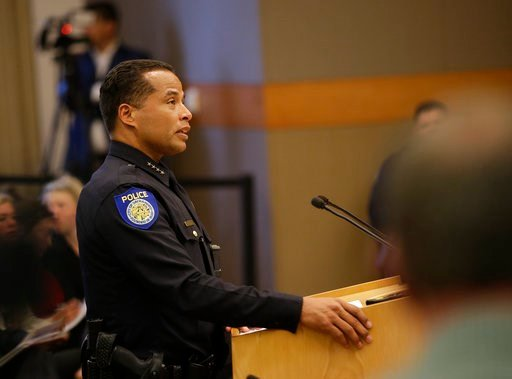 (AP Photo/Rich Pedroncelli). In the wake of the shooting death of Stephon Clark by Sacramento police, Sacramento Police Chief Daniel Hahn discusses some of the questions posed by the Sacramento City Council of how to prevent such incidents.