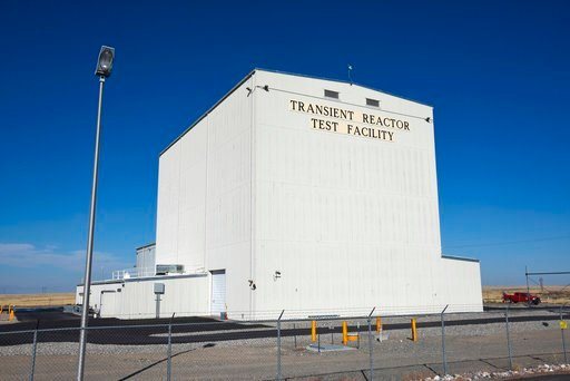 (Chris Morgan/Idaho National Laboratory via AP, file). FILE - This Tuesday, Nov. 14, 2017, file photo, provided by the Idaho National Laboratory shows the Idaho National Laboratory Transient Reactor Test Facility in Idaho Falls, Idaho. Federal official...