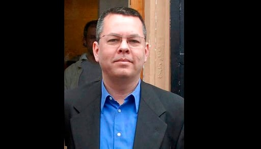 (DHA-Depo Photos via AP, File). FILE - In this undated file photo, Andrew Brunson, an American pastor, stands in Izmir, Turkey. The trial of an American pastor imprisoned in Turkey, whose case is part of the quagmire of tense relations between Washingt...