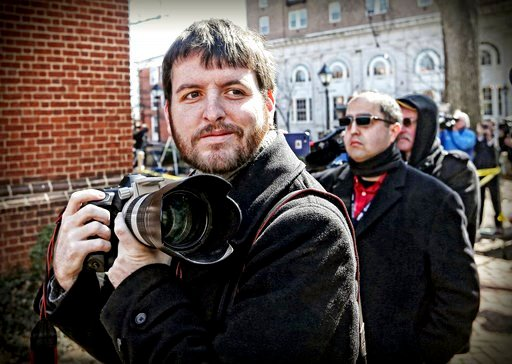 (The Pulitzer Prizes via AP). This undated photo provided by The Pulitzer Prizes shows Ryan Kelly, winner of the Pulitzer Prize for Breaking News Photography announced Monday, April 16, 2018, at Columbia University in New York.