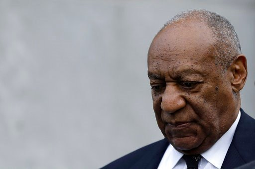 (AP Photo/Matt Slocum). Bill Cosby departs after his sexual assault retrial, Monday, April 16, 2018, at the Montgomery County Courthouse in Norristown, Pa.