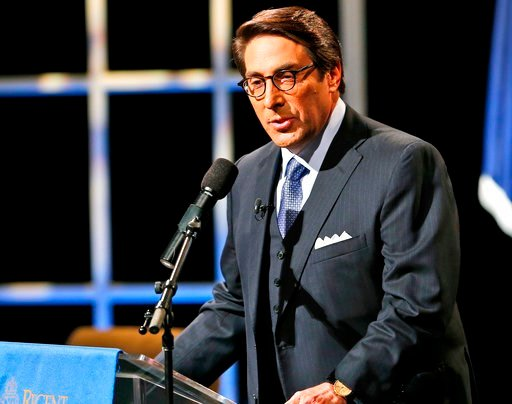(AP Photo/Steve Helber, File). FILE - In this Oct. 23, 2015, file photo, Jay Sekulow speaks at Regent University in Virginia Beach, Va. Lawyers who have been asked to help represent President Donald Trump have spurned the assignment at least partly out...