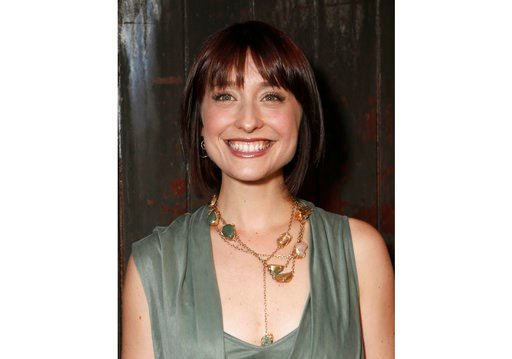 """(Photo by Todd Williamson/Invision/AP, File). FILE - This June 26, 2012, file photo shows television actress Allison Mack at a party in Los Angeles. Federal prosecutors say television actress Allison Mack, from """"Smallville"""" has been charged with sex tr..."""