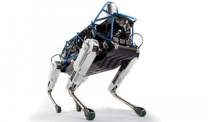 Boston Dynamics plans to begin selling the dog-like SpotMini robot next year. (Source: Boston Dynamics)