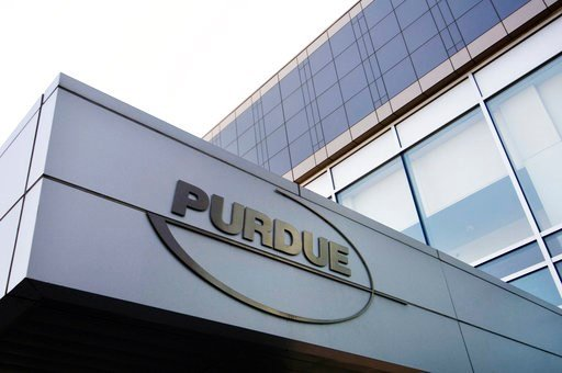 (AP Photo/Douglas Healey, File). FILE - This Tuesday, May 8, 2007 file photo shows the Purdue Pharma offices in Stamford, Conn. Nevada and five other states are filing new lawsuits alleging that a pharmaceutical company used deceptive marketing to boos...