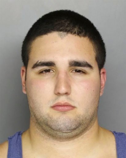 (Bucks County District Attorney's Office via AP, File). FILE - This undated file photo provided by the Bucks County District Attorney's Office in Doylestown, Pa., shows Cosmo DiNardo, of Bensalem, Pa., who was charged Friday, July 14, 2017, with the ki...