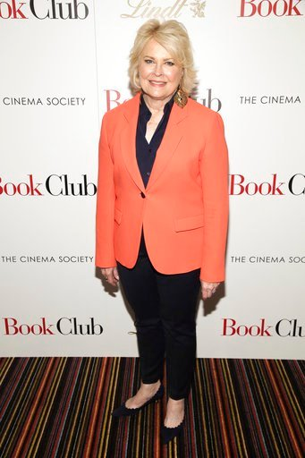 "(Photo by Brent N. Clarke/Invision/AP). Actress Candice Bergen attends a special screening of Paramount Pictures' ""Book Club,"" hosted by The Cinema Society, at City Cinemas 123 on Tuesday, May 15, 2018, in New York."