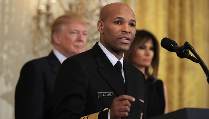 Is there a doctor on board? No less than the U.S. surgeon general steps up to help with a medical emergency aboard a commercial flight. (Source: Manuel Balce Ceneta/AP)