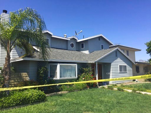 (AP Photo/Amanda Lee Myers). The home of a homicide victim, Ildiko Krajnyak, is seen after it was searched by police overnight in Trabuco Canyon, Calif., Wednesday, May 16, 2018. Sheriff's officials have officially identified the woman who died in yest...