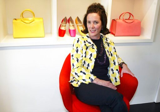 (AP Photo/Bebeto Matthews). This May 13, 2004 photo shows designer Kate Spade during an interview in New York. Spade was found dead in an apparent suicide in her New York City apartment on Tuesday, June 5, 2018.