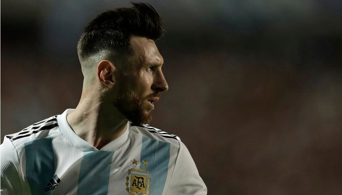 Israel was eagerly awaiting a sold-out international match against Lionel Messi's Argentina. (Source: AP Photo/Victor R. Caivano)