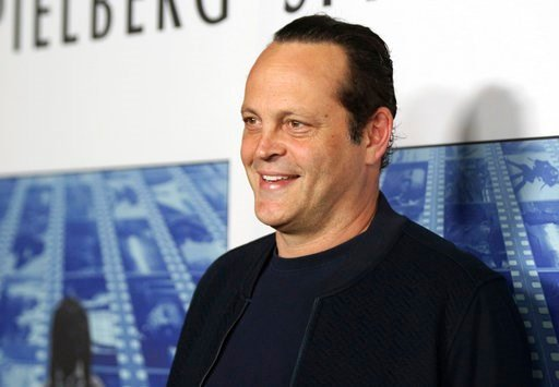 """(Photo by Willy Sanjuan/Invision/AP, File). In this Sept. 26, 2017, file photo, actor Vince Vaughn arrives at the Los Angeles premiere of """"Spielberg"""" at Paramount Studios in Los Angeles."""