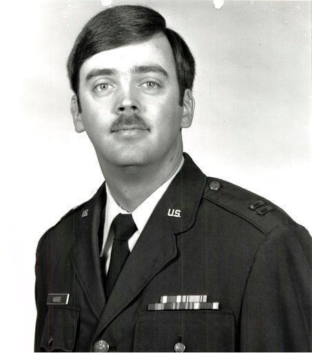 (U.S. Air Force photo via AP). This undated photo released by the U.S. Air Force shows Capt. William Howard Hughes, Jr., who was formally declared a deserter by the Air Force Dec. 9, 1983. He was apprehended June 6, 2018, by Air Force Office of Special...
