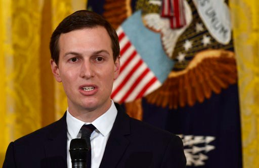 (AP Photo/Susan Walsh, File). In this May 18, 2018, file photo, White House adviser Jared Kushner speaks in the East Room of the White House in Washington.