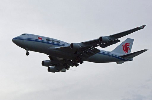 (AP Photo/Joseph Nair). A chartered Air China 747 lands in Singapore suspected to pick up North Korea leader Kim Jong Un on Tuesday, June 12, 2018, after his summit today with U.S. leader Donald Trump.
