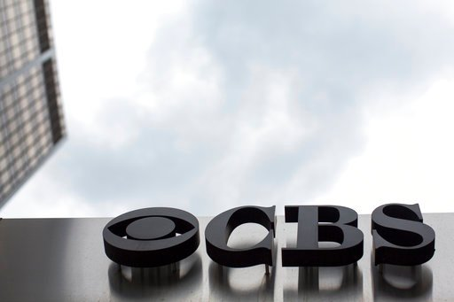 (AP Photo/Mary Altaffer, File). This May 10, 2017, file photo, shows the CBS logo at their broadcast center in New York.