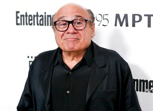 (Photo by Rich Fury/Invision/AP, File). FILE - In this April 7, 2016 file photo, Danny DeVito arrives at the 5th Annual Reel Stories, Real Lives Benefit in Los Angeles.  Disney has released its first teaser trailer for Tim Burton's remake of the classi...