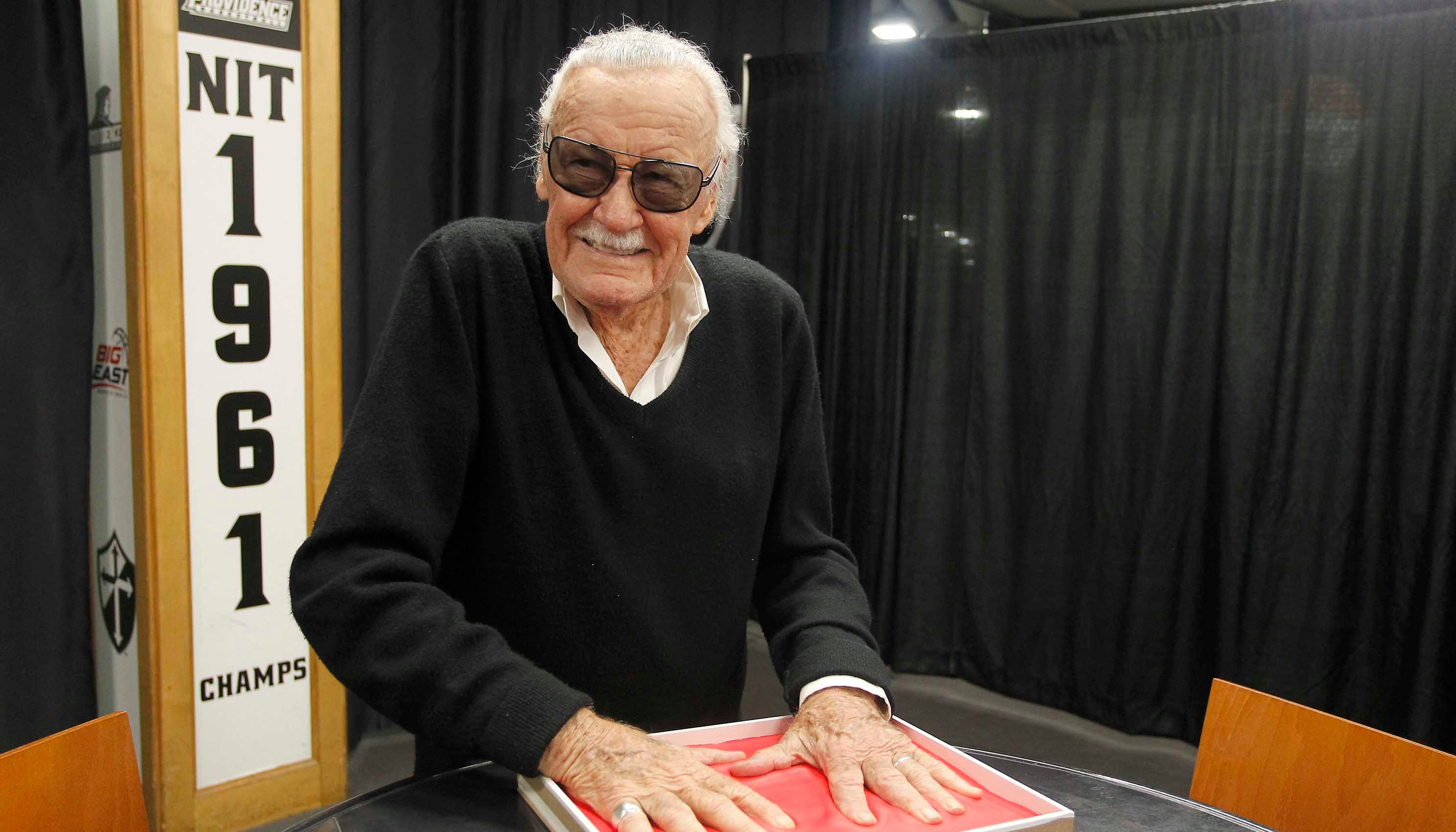 Los Angeles police have been investigating reports of elder abuse against Stan Lee. (Source: Stew Milne/AP Images for Hasbro, Inc.)