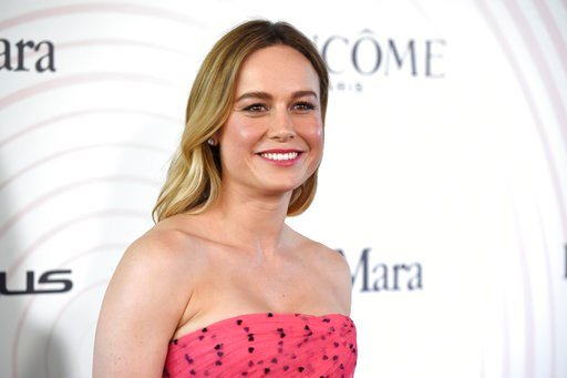 (Photo by Chris Pizzello/Invision/AP). Brie Larson arrives at the Women In Film Crystal and Lucy Awards at the Beverly Hilton Hotel on Wednesday, June 13, 2018, in Beverly Hills, Calif.
