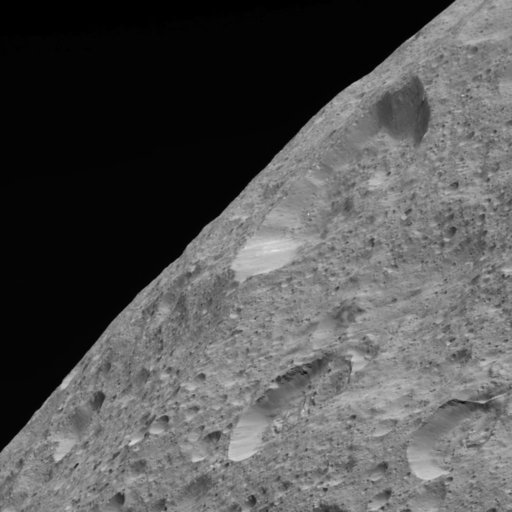(NASA via AP). This image of Ceres' limb was obtained by NASA's Dawn spacecraft on May 30, 2018 from an altitude of about 280 miles. Dawn has been orbiting Ceres since 2015, after first exploring the asteroid Vesta. They're located in the asteroid belt...