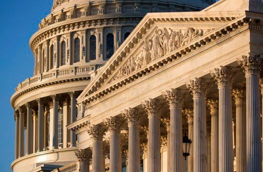 (AP Photo/J. Scott Applewhite, File). FILE - In this Jan. 25, 2017, file photo, the Capitol in Washington at sunrise. he coming battle over a Supreme Court nominee promises to be a bruising one. Republicans are eager for conservatives to gain a firm ma...