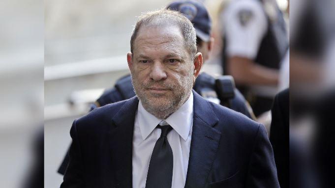 Harvey Weinstein arrives to court in New York, Tuesday, June 5, 2018. (Source: AP Photo/Seth Wenig)