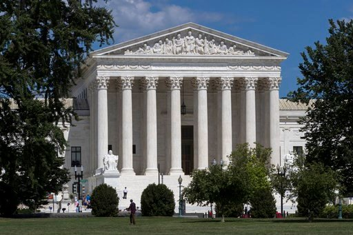 (AP Photo/J. Scott Applewhite, File). FILE - In this June 26, 2017, file photo, The Supreme Court is seen in Washington. Recent presidents have delighted in dramatically revealing the people they have chosen to sit on the Supreme Court. And they've gon...