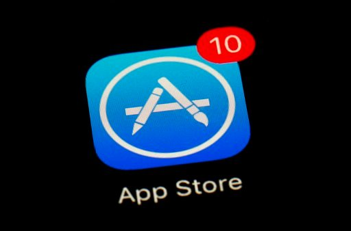 (AP Photo/Patrick Semansky, File). FILE - This March 19, 2018 file photo shows Apple's App Store app in Baltimore. Since its debut 10 years ago Tuesday, July 10, 2018, Apple's app store has unleashed new ways for us to work, play, and become lost in ou...