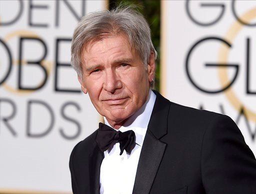 (Photo by Jordan Strauss/Invision/AP, File). FILE - In this Jan. 10, 2016 file photo, Harrison Ford arrives at the 73rd annual Golden Globe Awards in Beverly Hills, Calif. The Walt Disney Co. on Tuesday announced that the planned fifth installment in t...