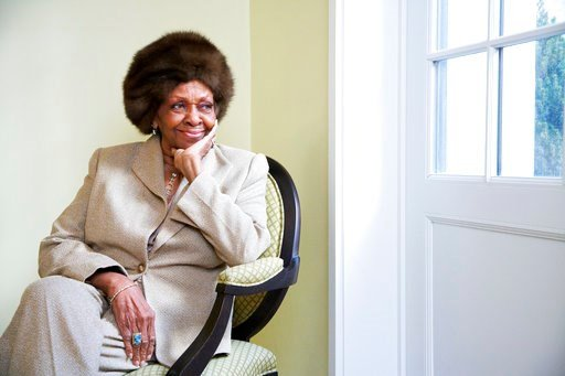 (Photo by Dan Hallman/Invision/AP, File). FILE - In this Jan. 22, 2013, file photo American gospel singer and author Cissy Houston poses for a portrait in New York. Cissy Houston, Whitney Houston's mother, said allegations that her superstar daughter a...