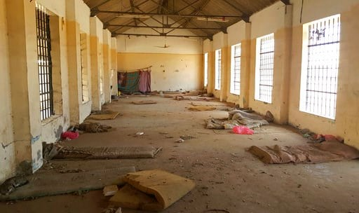 (AP Photo/Maad El Zikry, File). FILE - In this May 9, 2017 photo, shows a deserted cell in the public section of Aden Central Prison is shown in in Aden, Yemen. A separate, closed wing is run by Yemeni allies of the United Arab Emirates, part of a netw...