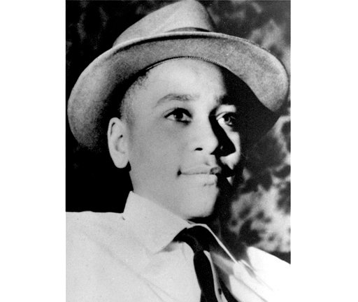 (AP Photo, File). This undated photo shows Emmett Louis Till, a 14-year-old black Chicago boy, who was kidnapped, tortured and murdered in 1955 after he allegedly whistled at a white woman in Mississippi.
