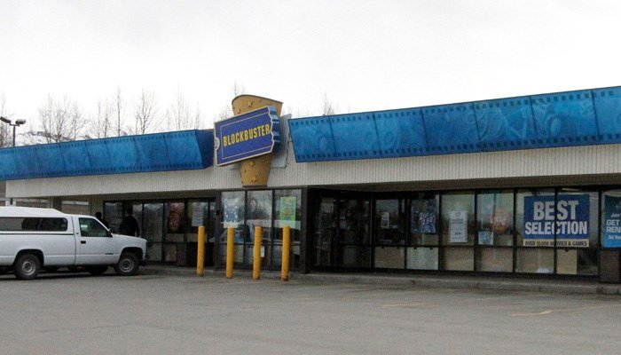 In its heyday, Blockbuster had 15 stores in Alaska. (Source: AP Photo/Mark Thiessen, File)