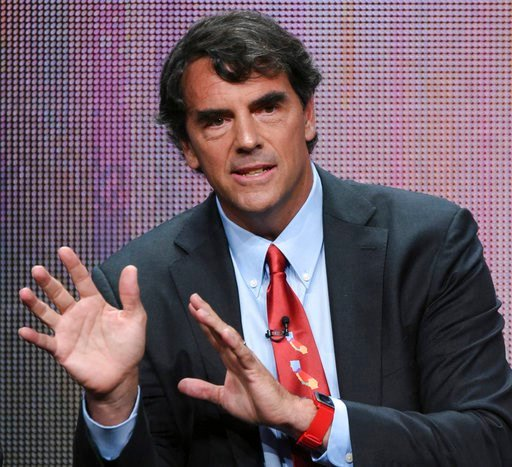 "(Photo by Richard Shotwell/Invision/AP, File). FILE - In this Aug. 5, 2015 file photo, executive producer Tim Draper participates in the ""Startup U"" panel at the Disney/ABC Summer TCA Tour at the Beverly Hilton Hotel in Beverly Hills, Calif. Draper, th..."