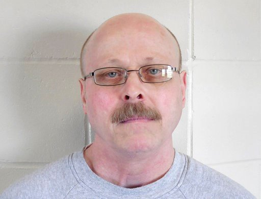 (Nebraska Department of Correctional Services via AP, File). FILE - This file photo provided by the Nebraska Department of Correctional Services shows death-row inmate Carey Dean Moore. A federal judge is set to decide Friday, Aug. 10, 2018, whether Ne...