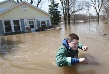 More rain, snow could lead to more flooding