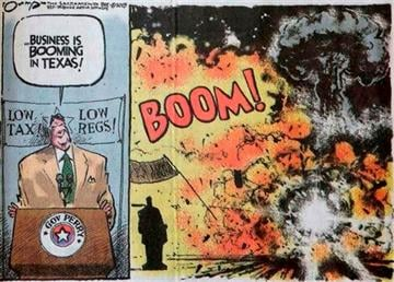 Perry disgusted by cartoon depicting explosion