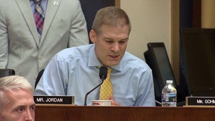 Former Ohio State assistant coach Jim Jordan, now a powerful Republican congressman, has insisted he was never aware of any abuse. But two former wrestlers, Yetts and Mike DiSabato, dispute Jordan's account. (Source: Pool/CNN)