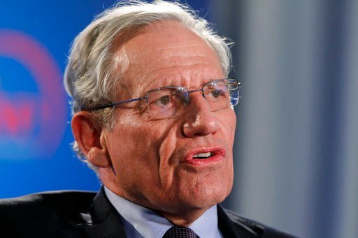 (AP Photo/Alex Brandon, file). FILE - This June 11, 2012 file photo shows former Washington Post reporter Bob Woodward speaking during an event to commemorate the 40th anniversary of Watergate in Washington. Woodward says top staffers in President Dona...