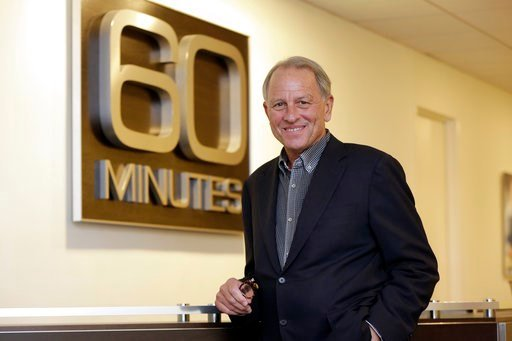 """(AP Photo/Richard Drew, File). FILE - In this Sept. 12, 2017 file photo, """"60 Minutes"""" Executive Producer Jeff Fager poses for a photo at the """"60 Minutes"""" offices, in New York. Fager, who was named in reports about tolerating an abusive workplace at CBS..."""