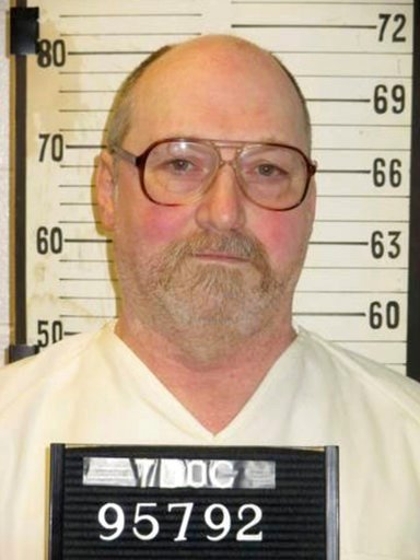 (Tennessee Department of Correction via AP). This undated photo provided by the Tennessee Department of Correction shows death row inmate David Earl Miller in Nashville, Tenn. Miller, 61, has been moved to the state's death watch ahead of his scheduled...