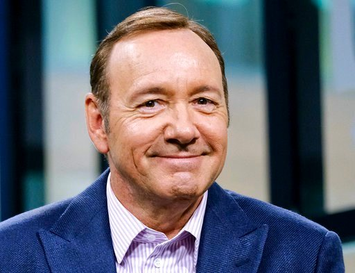 (Photo by Evan Agostini/Invision/AP, File). FILE - In this May 24, 2017 file photo, Kevin Spacey participates in the speaker series in New York. Spacey is set to appear in court Monday, Jan. 7, 2019, on accusations that he groped an 18-year-old man in ...