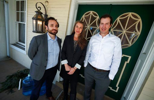 (AP Photo/David Zalubowski). In this Thursday, Dec. 20, 2018 photo, from left, attorneys David Seligman, Nina DiSalvo and Alexander Hood of Denver's Towards Justice are shown outside the organization's office east of downtown Denver. A deal filed in fe...